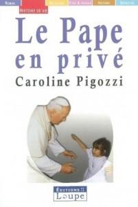 le pape en privé
