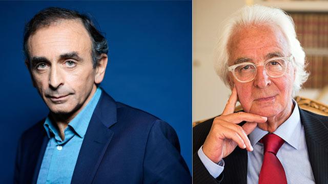Dîner-débat avec Eric Zemmour et Marc Bonnant